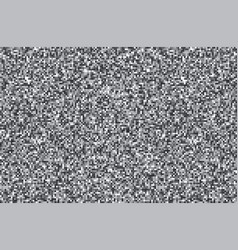 tv noise monochrome texture background vector image