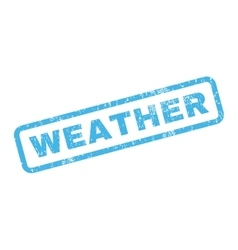 Weather Rubber Stamp vector