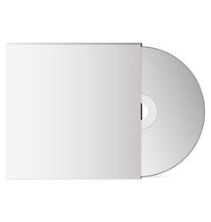 3d dvd optical drive mock up vector