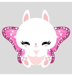 bunny 35 vector image vector image