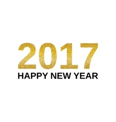 Happy New Year 2017 banner vector image vector image