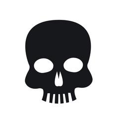 skull piracy virus technology concept vector image
