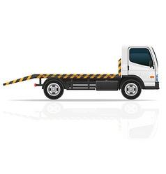 tow truck 01 vector image