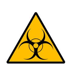 bio hazard symbol sign vector image