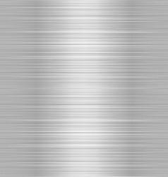 shiny metallic steel plate vector image