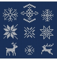 Ugly sweater Background 1 vector image vector image