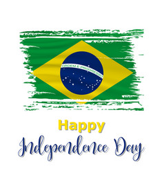 7 september brazil independence day vector image