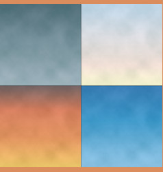 cloudy gradient sky backgrounds vector image