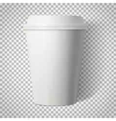 Coffee Cup Isolated on Transparent PS Style vector