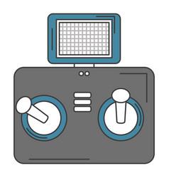 drone remote control icon vector image