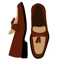 Loafers vector