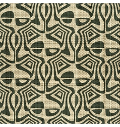 ornate textile print vector image