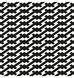 Seamless pattern Linear geometric ornament vector image