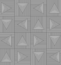 Triangle Black White Pattern vector