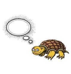 turtle-100 vector image