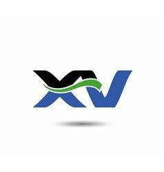 XV logo vector image