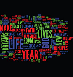 Year end clearance text background word cloud vector