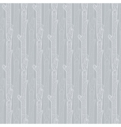 Grey wood logs texture seamless pattern vector
