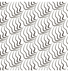 Simple repetition geometric lines pattern vector image vector image
