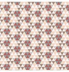 Triangular Vintage Pattern vector image vector image