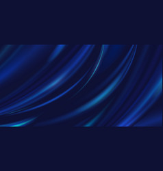 abstract luxury blue background cloth silk vector image