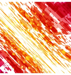 abstract techno lines background vector image