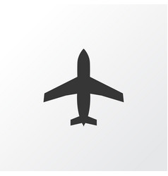 airplane icon symbol premium quality isolated vector image