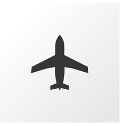 Airplane icon symbol premium quality isolated vector