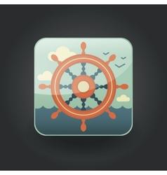 App icons wheel vector
