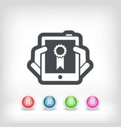 Best device icon vector