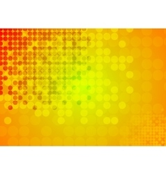 Bright circles abstract technical background vector image