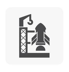 communication equipment icon vector image