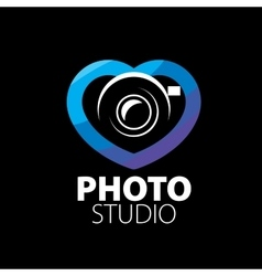Logo for photo studio vector