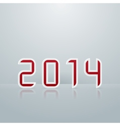 New Year Figures Second Embodiment vector image