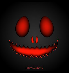 printhappy halloween mask background vector image