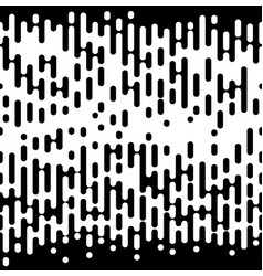 halftone irregular rounded lines eps 10 vector image