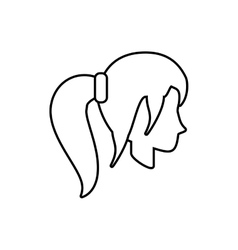 People casual woman icon image vector