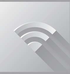 Monochrome wireless network symbol icons set vector