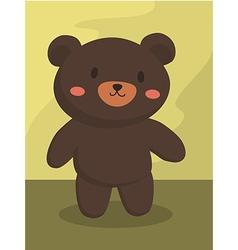 Black Bear Cartoon vector