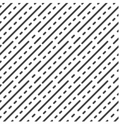 Dot dashed line geometric seamless pattern vector