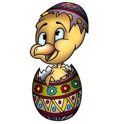 Easter Chicken vector image