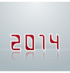 New Year Figures Third Option vector image