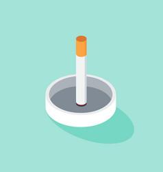 no smoking and world tobacco day poster vector image