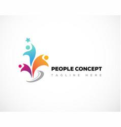People logo creative vector