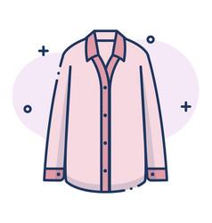 Pyjamas linecolor vector