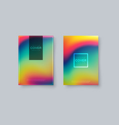 Rainbow covers design vector