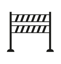 roadblock icon vector image