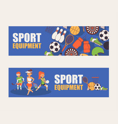 sport pattern sportsman people character vector image
