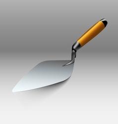 Trowel tool vector image