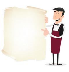 Winemaker menu vector